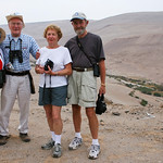 Trip participants of Cincinnati Nature Center group (USA) - Lluta Valley, near Arica, Chile.